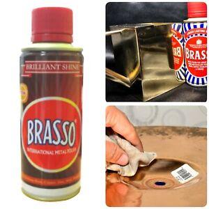 Brasso Metal Polish for Brass Copper Zinc Steel Pewter 200ml