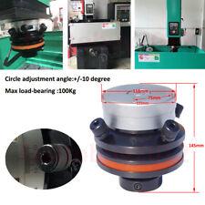 Calibrating Head 4 Holes Adjustable EDM Electrode Holder 75MM For EDM Machine