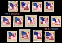 4129-35 4135 & 4186-91 4191 Flag 41c Complete Set of 13 From 2007 MNH - Buy Now