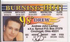 98 degrees Andrew DREW John Lachey Sprout Cincinnati Ohio OH Drivers License