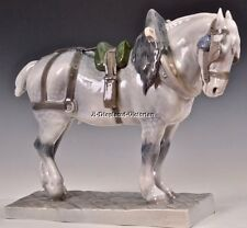Royal Copenhagen PERCHERON Draft HORSE R471 Figurine HTF Mint Condition