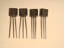 4 X MATCHED (Idss = 7.57mA) KEC 2SK117 2SK117BL LOW NOISE FOR AUDIO FET