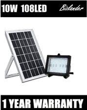 Bizlander 108 LED Solar Powered Dusk To Dawn Flood Light Outdoor Lighting commer
