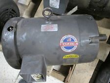 Baldor Motor VM3711T 10HP 208-230/460V 25-24/12A 3450RPM 60Hz 3Ph Used