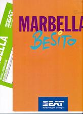 Seat - Marbella - Besito - Prospekt - 07/95 - Deutsch - nl-Versandhandel