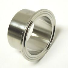 SANITARY 1″ 304 STAINLESS LONG WELD FERRULE CLAMP END TRI CLOVER <SAN032