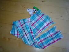 So 11 -paglie- foulard a carreaux, turquoise-blanc