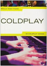 Really Easy Piano Coldplay Sheet Music Song Book Clocks Fix You Yellow Talk S95