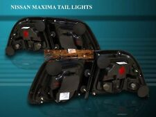 FIT 97 98 99 MAXIMA RED SMOKE ALTEZZA TAIL LIGHTS ASSEMBLY LH+RH 4 PIECES SET