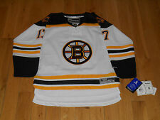 NEW REEBOK MILAN LUCIC BOSTON BRUINS NHL YOUTH SEWN REPLICA HOCKEY JERSEY L XL