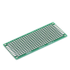 1X 3x7 cm 30mmx70mm Double Side Prototype PCB Tinned Universal Breadboard CAWB