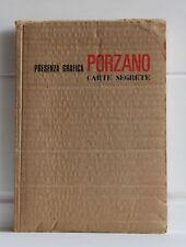 Giacomo Porzano PRESENZA GRAFICA Carte Segrete 1 Dario Micacchi