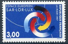 STAMP / TIMBRE FRANCE NEUF N° 3112 ** ESPACE EUROPEEN SAR. LOR. LUX.
