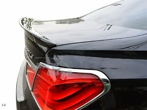 Carbon BMW F01 F02 Trunk Lip Spoiler A Type Sedan 740i 750Li 760Li 2009-2015
