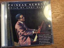 Phineas Newborn  - While My Lady Sleeps [CD Album]