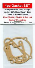 Aftermarket 4pc Gasket SET fits Saito FA-120, FA-150, & FA-180 'A' Engines-NIP