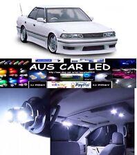 Toyota Cressida 1989 Hatch White LED Interior Light upgrade Kit (14pce)