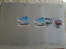 Audi A4 Saloon range brochure pack Apr 2001