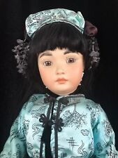Stunning Simon & Halbig-Germany-1329-Beaut iful Reproduction Porcelain Doll