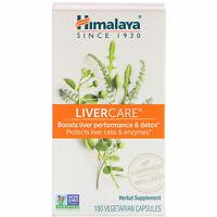 Himalaya LIVER CARE 180 Veggie Capsules Non-GMO, Gluten-Free, LiverCare DETOX