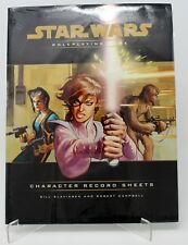 STAR WARS ROLEPLAYING GAME CHARACTER RECORD SHEETS FACTORY SEALED NEW