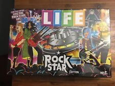 SEALED THE GAME OF LIFE ROCK STAR EDITION HASBRO USAOPOLY FAMILY PARTY BOARD