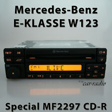 Original Mercedes Special MF2297 Cd-R W123 Radio E-Class S123 C123 CD Car Radio
