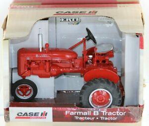 tracteur CASE IH miniature farmall B traktor tractor ERTL 14628 1/16 eme