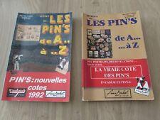 Lot de 2 Livres Les Pin's De A à Z Rachel Cohen