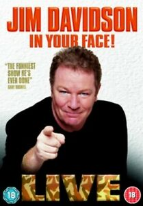 Jim Davidson: In Your Face DVD (2006) Jim Davidson cert 18 Fast and FREE P & P