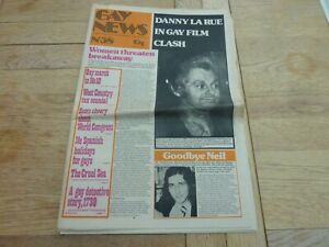 1974 RARE UK GAY NEWS NEWSPAPER No 58 24 PAGES COMPLETE