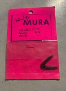SLOT CAR BDY-0046 MURA LIGHT MAGNET CLIPS, VINTAGE RETRO, NEW, REBUILD IT RIGHT