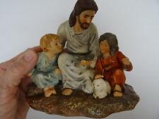 "Vintage 1983 Porcelain ""The Fisherman"" With Jesus & Children"