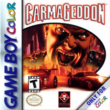 Carmageddon GBC New Game Boy Color