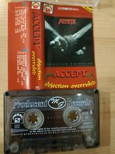 Accept – Objection Overruled