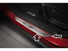 Mazda CX-3 Aluminum Scuff Plates with an CX-3 logo (Set of 2) 00008TS02