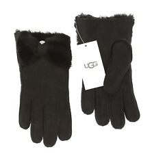 UGG Bow Shorty Glove in Black Women's Size S 2943