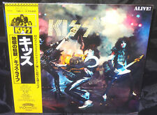 Kiss Alive! Sealed Vinyl Records Lp Album Obi Japan 1980 Casablanca 19S-1~2