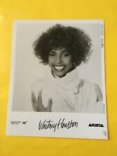 Whitney Houston Press Photo 8x10�, Arista Records. See Photos.