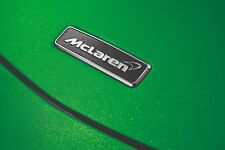 Genuine McLaren 570S 570GT Front + REAR Carbon Fiber Emblem Badge OEM NEW
