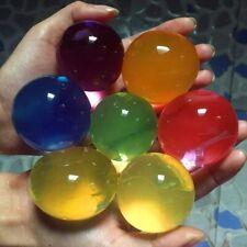 Large Jumbo Aqua Balls Giant Orbeez Magic Garden Water Beads Jelly Yard - 30Pcs