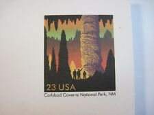 USPS 2002 Unused Lot of 18 Postcards Blank 23 Cent Carlsbad Caverns Natl Park NM