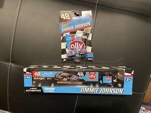 Lot Jimmie Johnson Ally Darlington Hauler & Car 1/64 Diecast Nascar Authentics