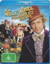 Willy Wonka and the Chocolate Factory (1971) - Brand New Blu-ray Region B