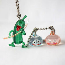 Square Enix SQEX Toys Dragon Quest Crystal Monster Cruelcumber & Slime Keychain