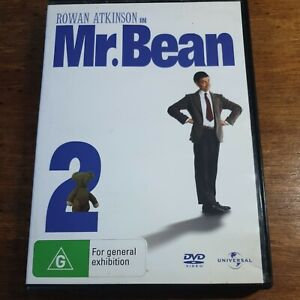 Mr Bean 2 DVD R4 Like New! FREE POST Goes to town Rides Again Do it Yourself 426