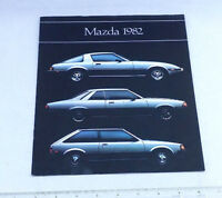 1982 Mazda Print Ad Brochure