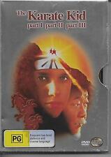 The Karate Kid Part I, II, III - 3 Movies 2 Discs METAL SLEEVE DVD 2010 Region 4