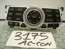 08 - 13 Infiniti G35 & G37 Radio Navigation Control Panel Used Stock #3175-AC