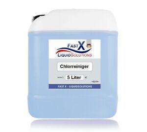 Schimmelentferner Professional Aktivchlor von Fast-X 5 Liter